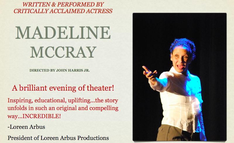 Loreen Arbus review Madeline McCray