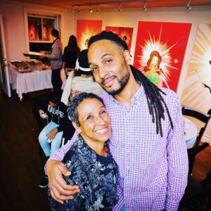 Mother and Son Uhuru McCray & Madeline McCray