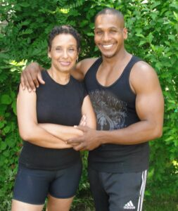 My Son & Personal Trainer Madeline McCray & Terahshea McCray